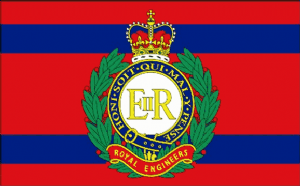 Royal Engineers Corps Large Flag - 5' x 3'